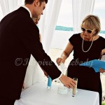 Sand Ceremony at Parkshore Resort