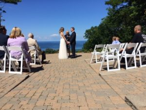 friend officiant at Homestead Resort